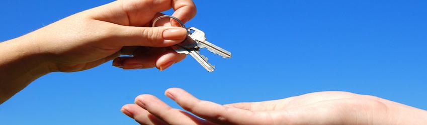 Keys handing over blog