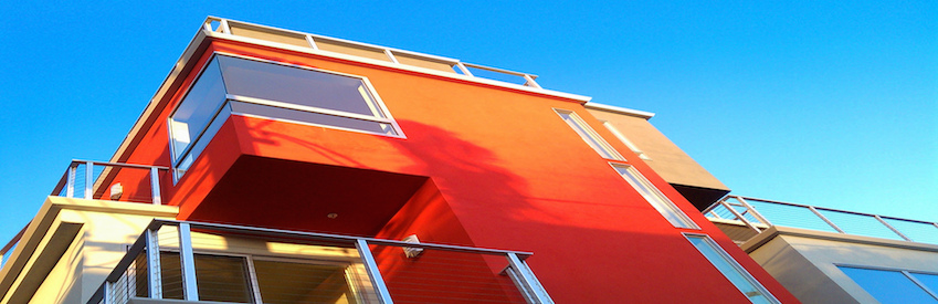 house red cool building architecture balcony edmonton