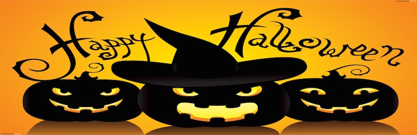 happy halloween pumpkins hat scary