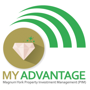 MY ADVANTAGE logo Magnum York Rental Pool Management