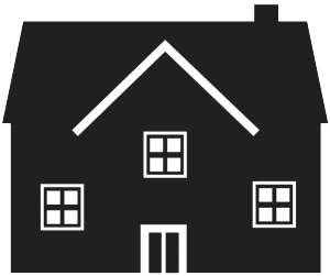 house graphic residence doors black home Single Unit Management