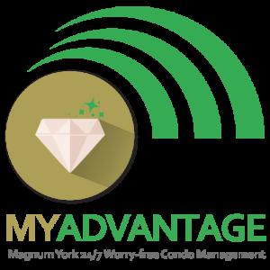 Magnum York MYAdvantage Logo 24/7 worry free condo management