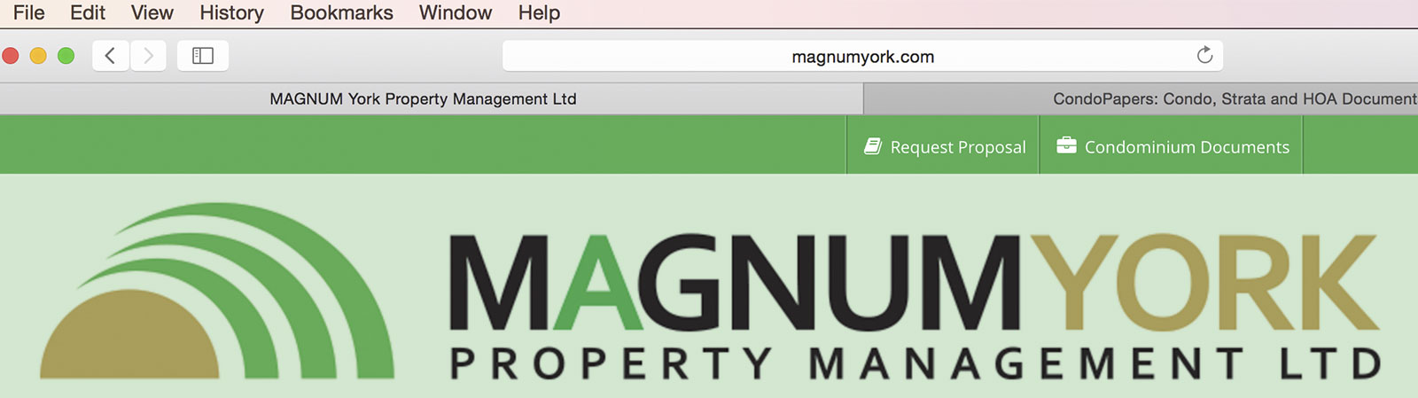 Condo Docs Documents web portal magnum papers download board