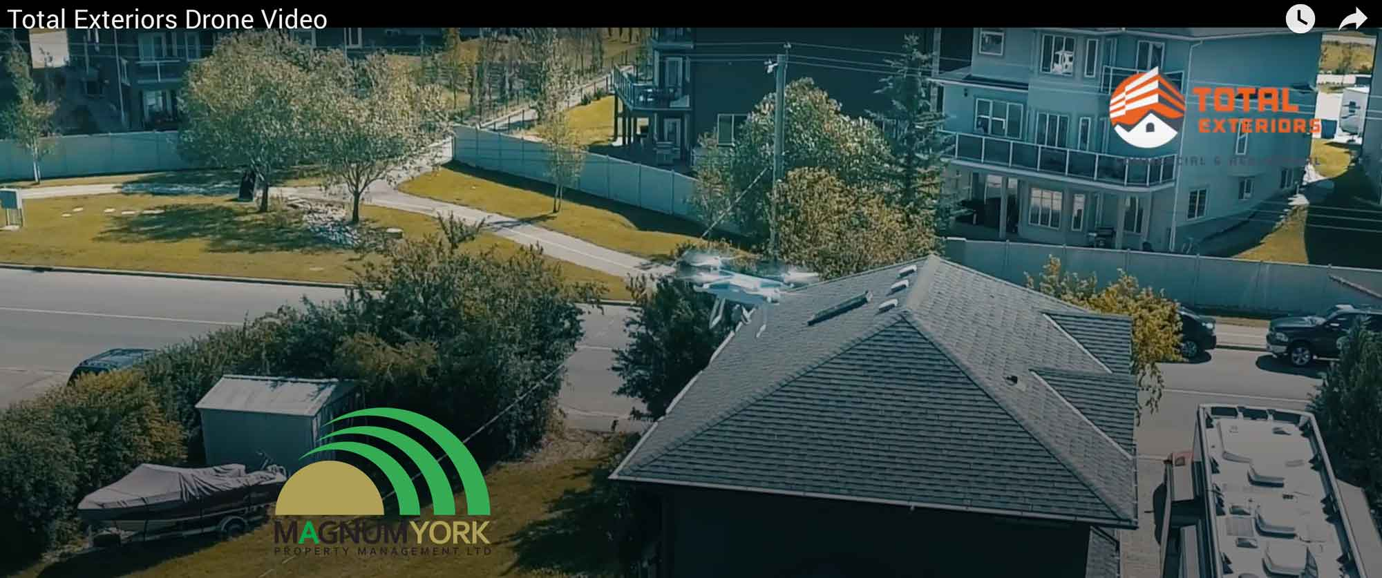 total exteriors drone magnum york vendor program