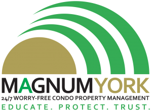 Magnum York Logo worry free condo property management