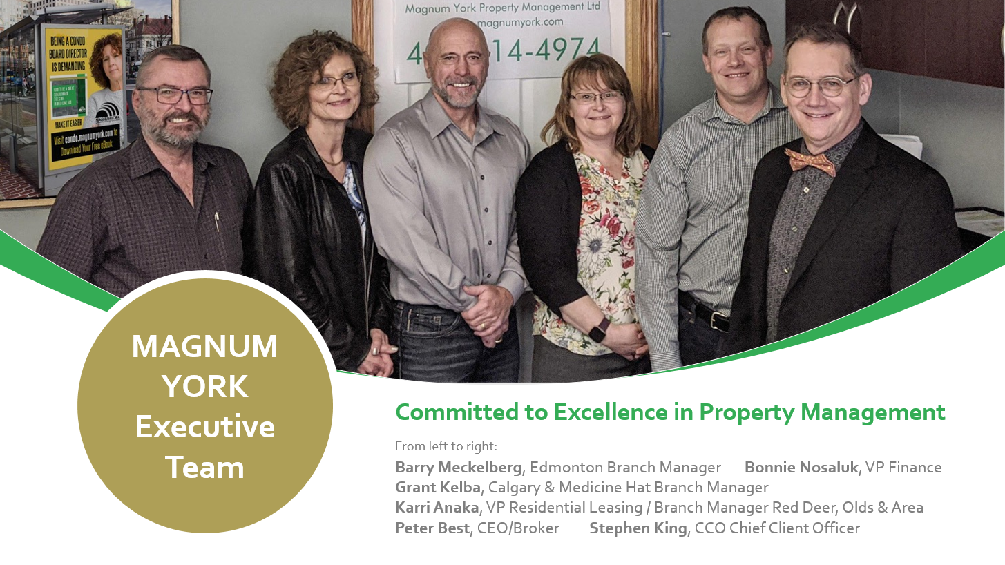 Magnum York Executive Team serving Alberta