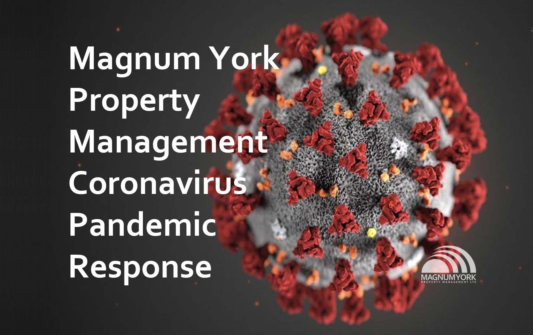 Magnum York Property Management Coronavirus Pandemic Response Covid-19