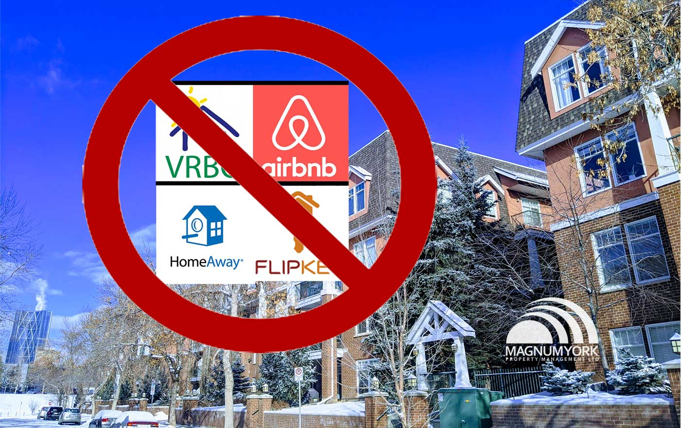 Magnum York Alberta Judge Bans AirBnB VRBO Condominiums