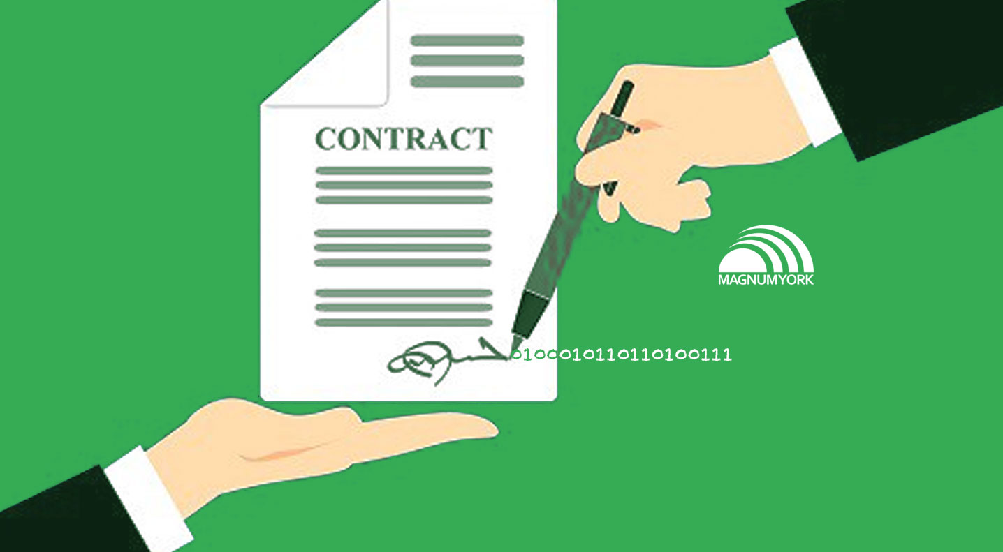 Using electronic signatures on property management contracts and forms