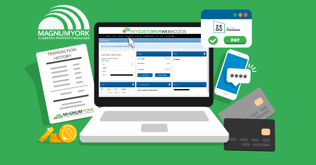 MYCustomerCare Online Portal Magnum York Payments